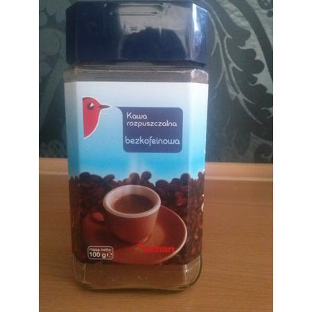Kawa rozpuszczalna bezkofeinowa marki Auchan - zdjęcie nr 1 - Bangla