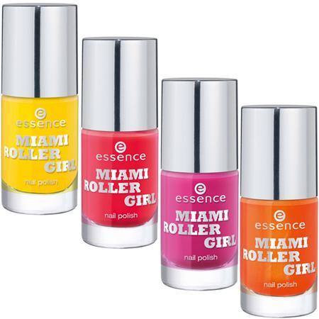 Miami Roller Girl Nail Polish marki Essence - zdjęcie nr 1 - Bangla
