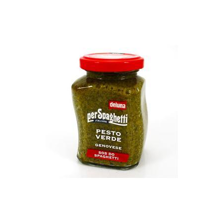 Pesto Verde Genovese, Sos do spaghetti, Pesto zielone z bazylią marki Deluna - zdjęcie nr 1 - Bangla