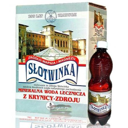Słotwinka, Naturalna woda lecznicza marki Uzdrowisko Krynica - Żegiestów - zdjęcie nr 1 - Bangla