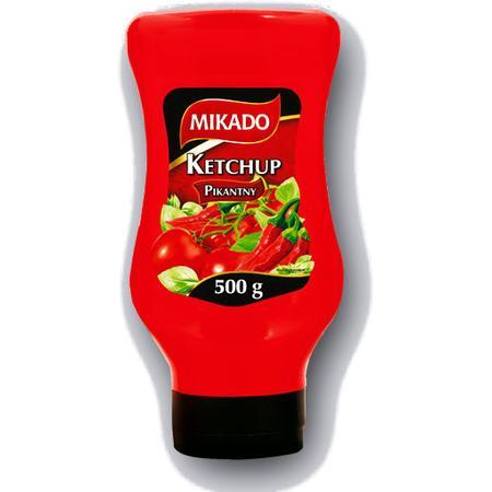 Mikado, ketchup pikantny, łagodny marki Lidl - zdjęcie nr 1 - Bangla