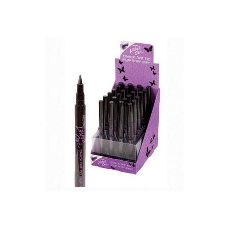 Lashed Out, Black Felt Tip Eye Liner Pen, Liner we flamastrze marki Royal Cosmetix - zdjęcie nr 1 - Bangla