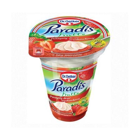 Paradis Frutto, Puszysty Deser Owocowy - różne smaki marki Dr Oetker - zdjęcie nr 1 - Bangla