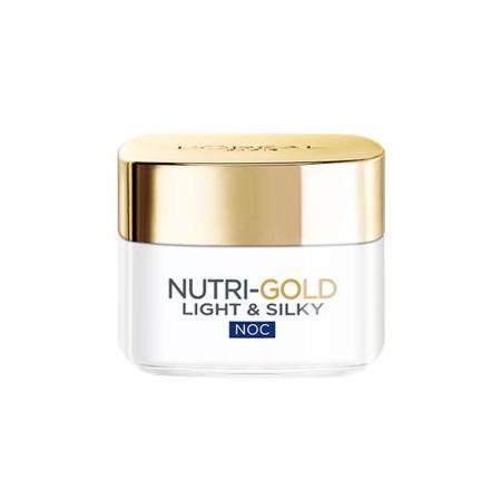 Nutri Gold Light & Silky, Nawilżająca terapia odżywcza na noc marki L'oreal Paris - zdjęcie nr 1 - Bangla