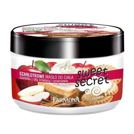 Sweet Secret, Szarlotkowe Masło do Ciała marki Farmona - zdjęcie nr 1 - Bangla