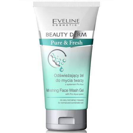 Beauty Derm Pure & Fresh, Odświeżający żel do mycia twarzy z systemem Pro Aqua marki Eveline Cosmetics - zdjęcie nr 1 - Bangla