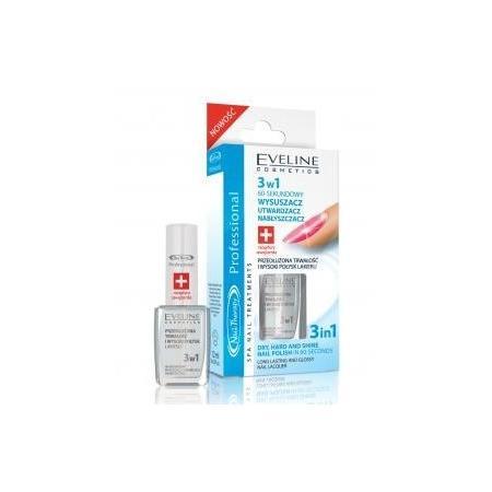 Nail Therapy, 3 w 1 60-sekundowy Wysuszacz Utwardzacz Nabłyszczacz marki Eveline Cosmetics - zdjęcie nr 1 - Bangla