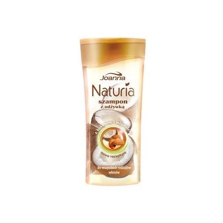 Naturia, Szampon z odżywką z kokosem i migdałem, do wszystkich rodzaju włosów marki Joanna - zdjęcie nr 1 - Bangla
