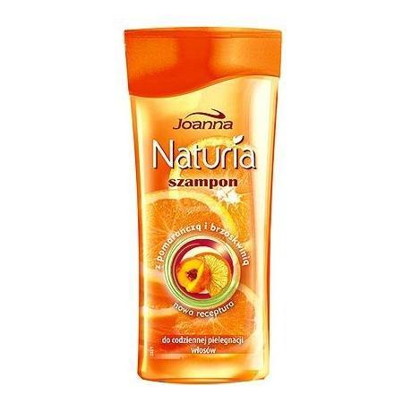 Naturia, Szampon z pomarańczą i brzoskwinią, do codziennej pielęgnacji włosów marki Joanna - zdjęcie nr 1 - Bangla