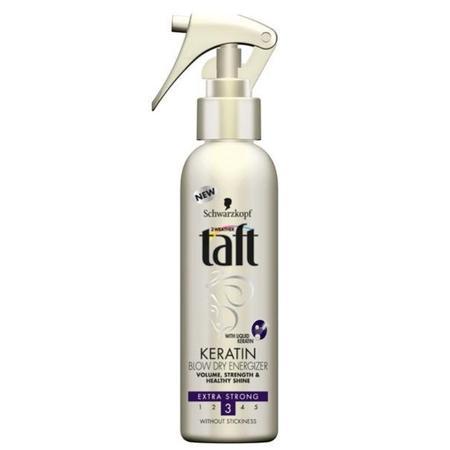 Keratin, Blow Dry Energizer, Spray do włosów marki Taft - zdjęcie nr 1 - Bangla