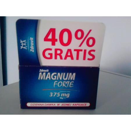 MAGNUM  Forte  375mg marki Zdrovit - zdjęcie nr 1 - Bangla