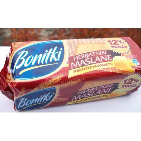 Bonitki Herbatniki maślane pełnoziarniste marki Biedronka - zdjęcie nr 1 - Bangla