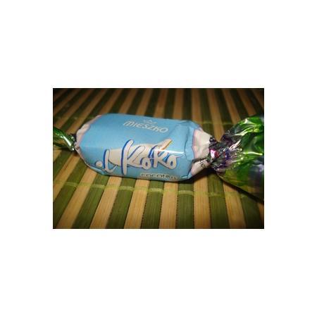 El Koko, cukierek czekoladowy z nadzieniem kokosowym marki Mieszko - zdjęcie nr 1 - Bangla