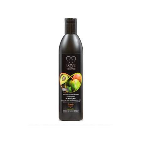 Organiczny Szampon Regeneracyjny Z Efektem Laminowania, Ekstrakt Z Mango I Awokado Dla włosów Zniszczonych marki Love2mix Organic - zdjęcie nr 1 - Bangla