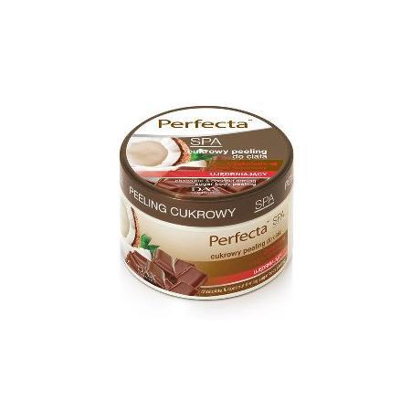 Perfecta SPA, Cukrowy peeling do ciała czekolada + olejek kokosowy marki Dax Cosmetics - zdjęcie nr 1 - Bangla