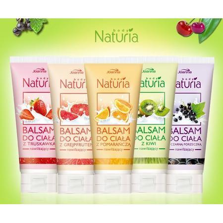 Naturia Body, Balsam do ciała nawilżajacy, różne zapachy marki Joanna - zdjęcie nr 1 - Bangla