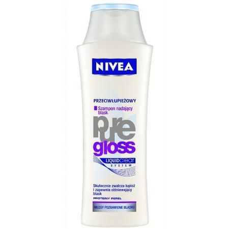 Pure Gloss, Szampon przeciwłupieżowy nadający blask marki Nivea - zdjęcie nr 1 - Bangla