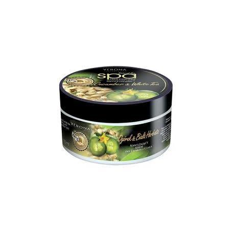 Natural Line SPA Professional, Cucumber & White Tea, Krem do twarzy i ciała z ogórkiem i białą herbatą marki Verona - zdjęcie nr 1 - Bangla
