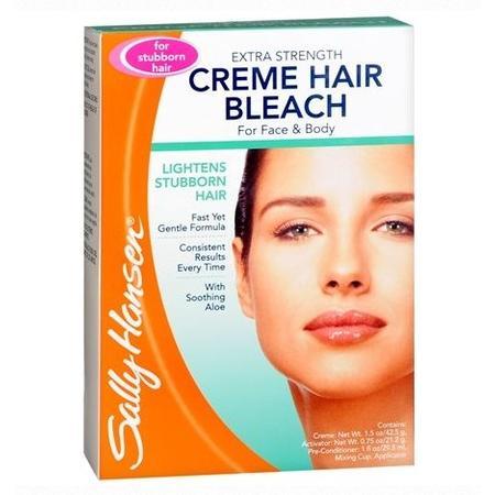 Extra Strength Creme Hair Bleach Ekstra mocny rozjaśniacz do włosków na twarzy marki Sally Hansen - zdjęcie nr 1 - Bangla