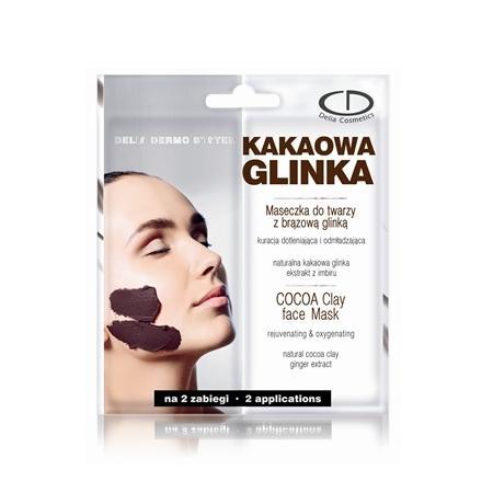 Dermo System, Kakaowa Glinka, Maseczka do twarzy z brązową glinką marki Delia Cosmetics - zdjęcie nr 1 - Bangla
