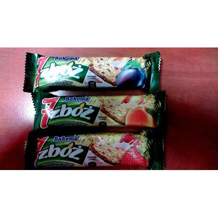 Batonik 7 Zbóż , różne smaki marki Bakoma - zdjęcie nr 1 - Bangla