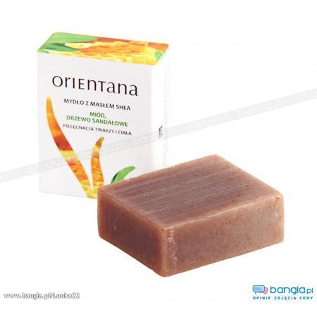 Mydło z masłem shea, Miód, Drzewo Sandałowe marki Orientana - zdjęcie nr 1 - Bangla