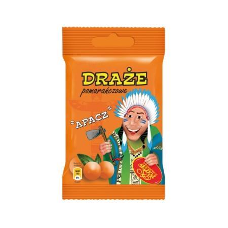 Apacz, Draże pomarańczowe marki Skawa - zdjęcie nr 1 - Bangla