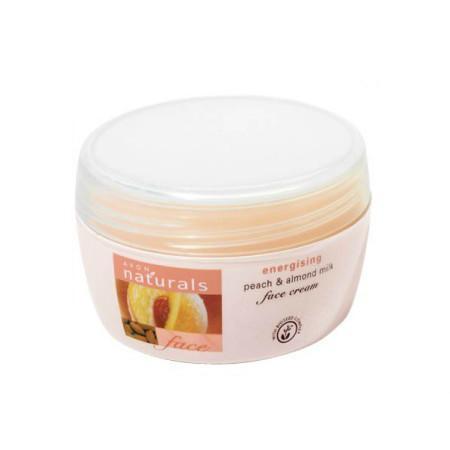 Naturals, Peach & Almond Milk, Energising Face Cream, Odżywczy krem do twarzy marki Avon - zdjęcie nr 1 - Bangla
