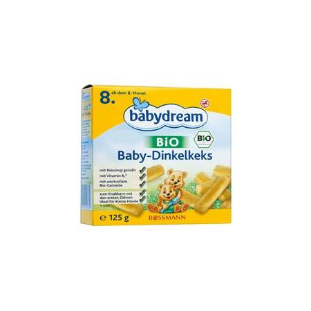 Babydream BIO Baby Dinkelkeks, ciasteczka orkiszowe dla niemowląt marki Rossmann - zdjęcie nr 1 - Bangla