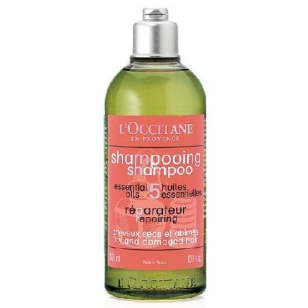Shampooing Reparateur 5 Essential Oils, Odbudowujący szampon do włosów suchych i zniszczonych marki L'Occitane - zdjęcie nr 1 - Bangla
