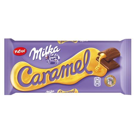Caramel, czekolada mleczna z karmelem marki Milka - zdjęcie nr 1 - Bangla