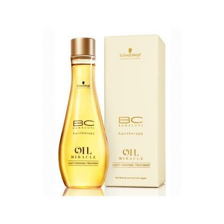 BC Bonacure, Oil Miracle Light Finishing Treatment, Olejek pielęgnacyjny do włosów cienkich i normalnych marki Schwarzkopf - zdjęcie nr 1 - Bangla