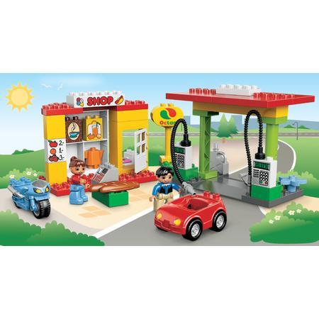 Duplo, Stacja paliw, 6171 marki Lego - zdjęcie nr 1 - Bangla