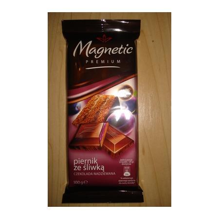 Magnetic Premium, Czekolada, Piernik ze śliwką marki Biedronka - zdjęcie nr 1 - Bangla