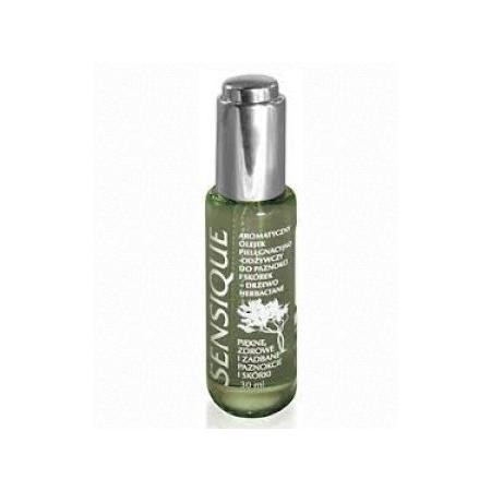 Drzewo Herbaciane, Aromatyczny olejek pielęgnacyjno-odżywczy do paznokci i skórek marki Sensique - zdjęcie nr 1 - Bangla