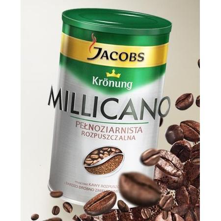 Millicano Wholebean Soluble, Kawa Pełnoziarnista Rozpuszczalna marki Jacobs - zdjęcie nr 1 - Bangla