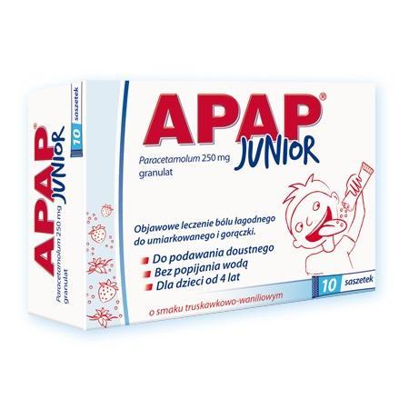 Apap Junior, Granulat od 4 r. ż. marki USP Zdrowie - zdjęcie nr 1 - Bangla