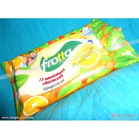 Frotto Chusteczki Nawilżane, różne zapachy marki Lidl - zdjęcie nr 1 - Bangla