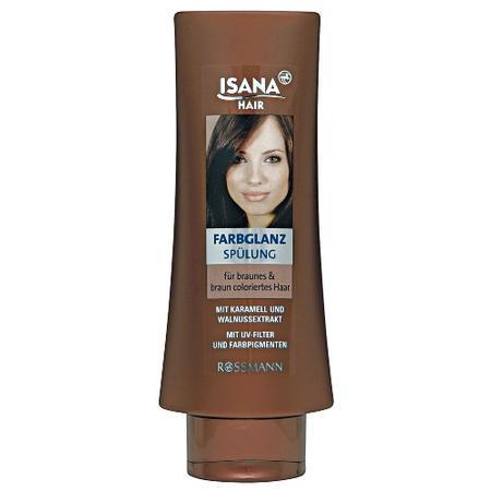 Isana Hair, Harglanz Spulung fur Braunes & Braun Colorietes Haar, Odżywka do włosów brązowych marki Rossmann - zdjęcie nr 1 - Bangla