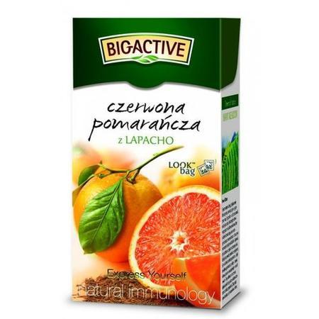 Czerwona Pomarańcza z Lapacho, Herbata ekspresowa marki Big-Active - zdjęcie nr 1 - Bangla