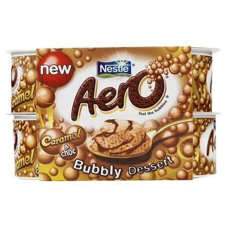 Aero Bubbly Dessert, różne smaki marki Kaszki Nestlé - zdjęcie nr 1 - Bangla