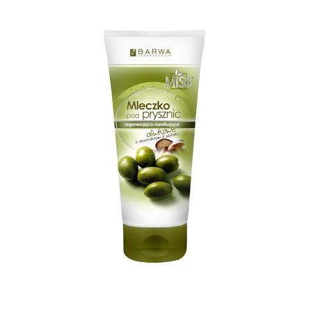 MISS Mleczko pod prysznic regenerująco-nawilżające oliwkowe z ekstraktem z shiitake marki Barwa - zdjęcie nr 1 - Bangla