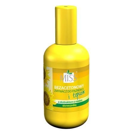 Miss, Bezacetonowy zmywacz do paznokci i tipsów z ekstraktem z nasion słonecznika marki Barwa - zdjęcie nr 1 - Bangla