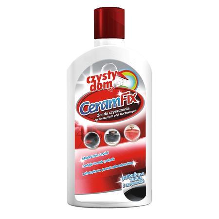 Czysty Dom, CeramFix Żel do czyszczenia ceramicznych płyt kuchennych marki Barwa - zdjęcie nr 1 - Bangla