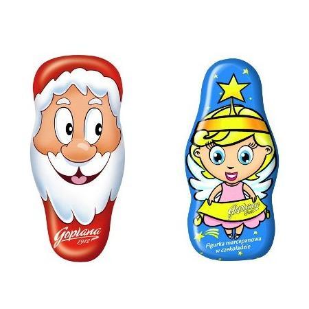 Czekoladowy Mikołaj lub Aniołek, różne rodzaje marki Goplana - zdjęcie nr 1 - Bangla