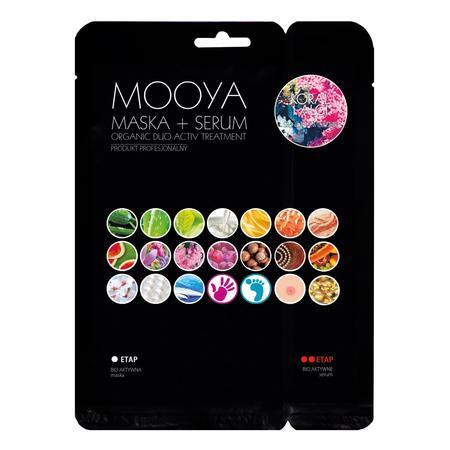 Mooya Bio Organiczny Zabieg, Koral i Algi, Tonizacja i Nawilżenie marki Beauty Face - zdjęcie nr 1 - Bangla