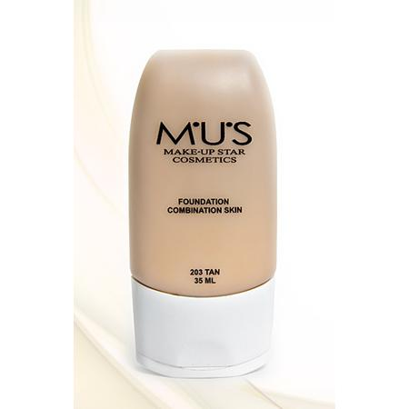Foundation Combination Skin marki M.U.S Make-up Star Cosmetisc - zdjęcie nr 1 - Bangla