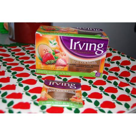 Herbata z truskawkami, melonem i zielonym pieprzem marki Irving - zdjęcie nr 1 - Bangla