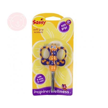 Nożyczki do paznokci dla niemowląt Motylek marki Sassy - zdjęcie nr 1 - Bangla