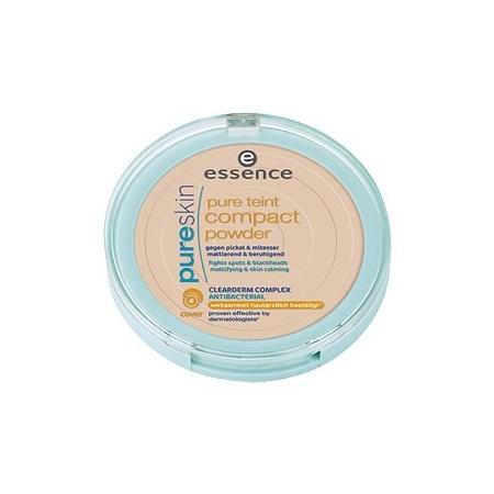 Pure Skin, Pure Teint Compact Powder, Antybakteryjny puder do twarzy marki Essence - zdjęcie nr 1 - Bangla